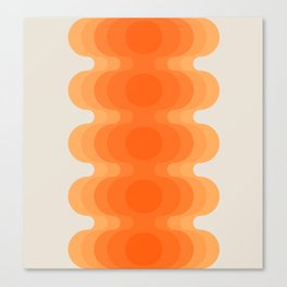 Echoes - Creamsicle Canvas Print