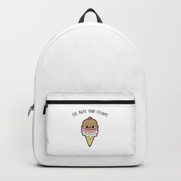 Eat away your feelings Backpack