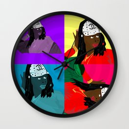 """Oh My Goodness"" by Keith Moses Wardlaw A.K.A. kmoses215 Wall Clock"