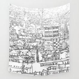 Sarajevo Panorama 002 Wall Tapestry