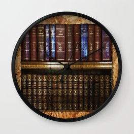 Read A Book! Wall Clock