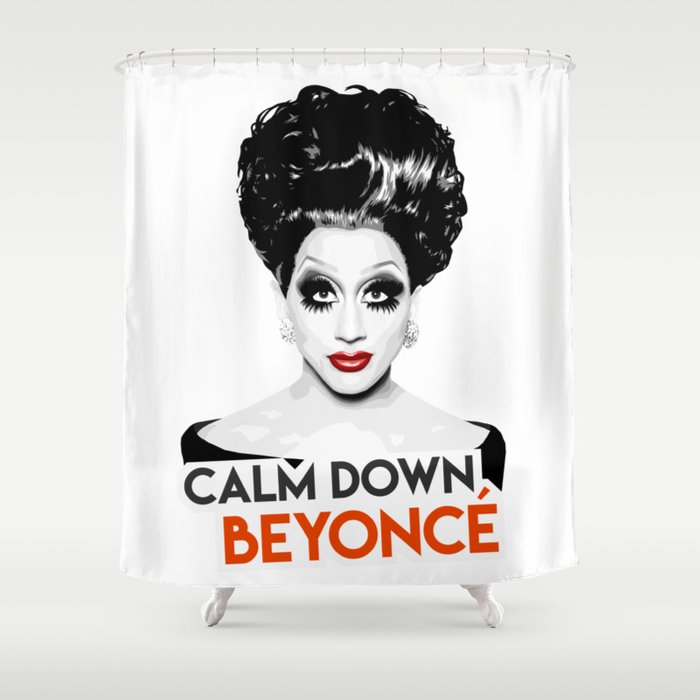 Bianca Del Rio RuPauls Drag Race Queen Shower Curtain By Vixxitees