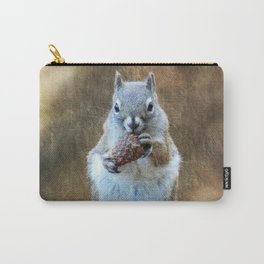 Squirrel with a Pine Cone Carry-All Pouch
