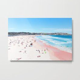 Bondi Beach Fine Art Metal Print