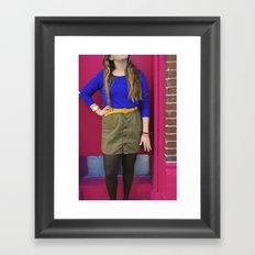 Fashionista.  Framed Art Print