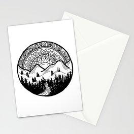 Mountain Mandala Stationery Cards