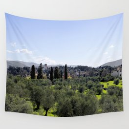 Tuscan Hills Wall Tapestry
