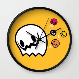 Halloween series - Popping Ghosts Wall Clock