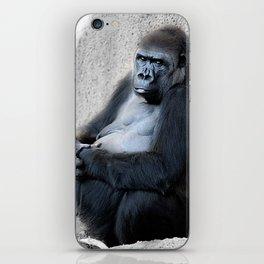 Gorilla Print iPhone Skin