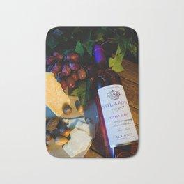 Wine and Cheese Bath Mat
