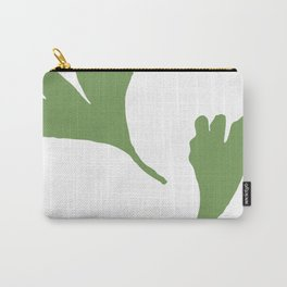 Minimalist Ginkgo Leaves Carry-All Pouch
