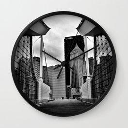 fever dreams in steel city Wall Clock