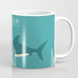 Sharkasm Coffee Mug