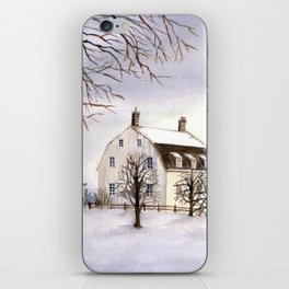 Winter in New England iPhone Skin