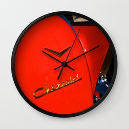 see the u.s.a. in your chevrolet Wall Clock