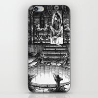 monster high iPhone & iPod Skins featuring The High Priest by Michael Brack