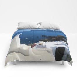 Oia Santorini c Comforters