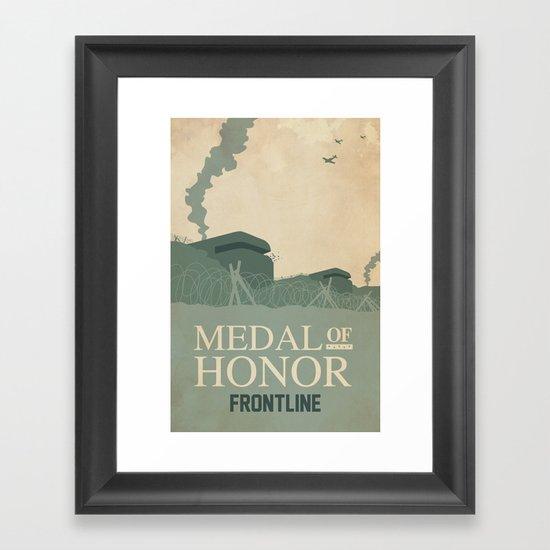 Medal of Honour - Frontline Framed Art Print