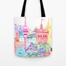 New Zealand Towers  Tote Bag