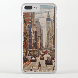 New York Dream Clear iPhone Case