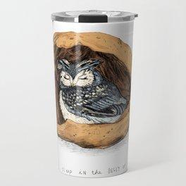 Belly of a Walnut Travel Mug