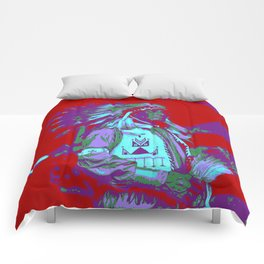 Indian Chief Pop Art Comforters