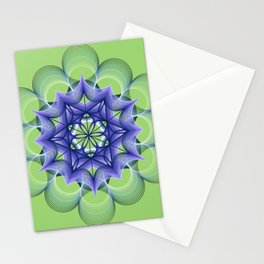 Lime Squeeze - Digital Art  Stationery Cards