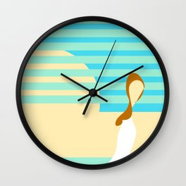 Summer 1 Wall Clock
