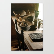 Lovely Wood Canvas Print