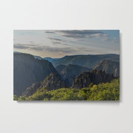 Black Canyon of the Gunnison National Park at Sunrise Metal Print