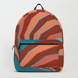 Colored Shell Coral Backpack