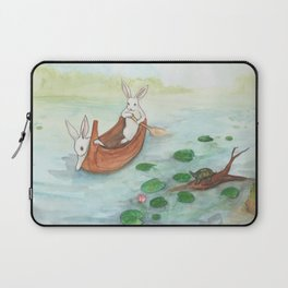 Lazy Day in the Canoe Laptop Sleeve