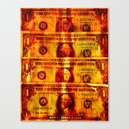 Four Dollars Canvas Print