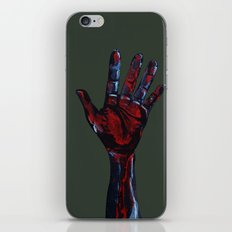 Hand of Death iPhone & iPod Skin
