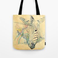 paradise Tote Bags featuring Paradise by dogooder