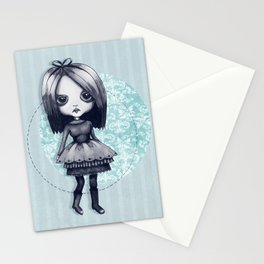 Gothy Girl Stationery Cards