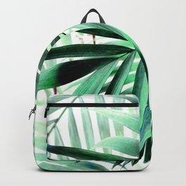 Tropical green leaves design Backpack