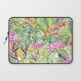 Tropical Garden 1A #society6 Laptop Sleeve
