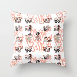 Rocky Horror Jelly Show Throw Pillow