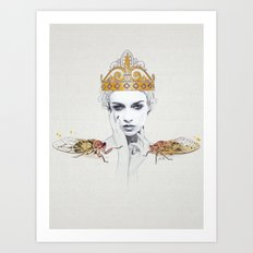 The Queen #1 Art Print