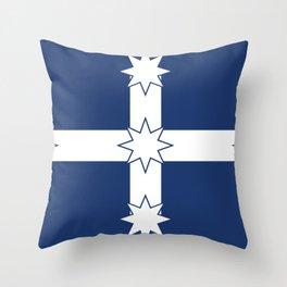 Eureka Stockade Flag Throw Pillow