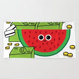MELONaire Beach Towel