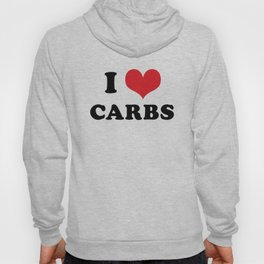 I (heart) CARBS Hoody