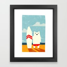 Surf! Framed Art Print