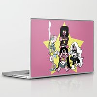 sailormoon Laptop & iPad Skins featuring Sailor Crystal Gems by Agui-chan