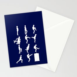 The TARDIS of Silly Walks Stationery Cards