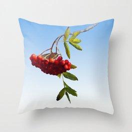 Rowan Tree Branch Throw Pillow