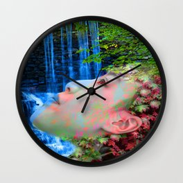Fountain of Youth Wall Clock