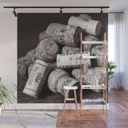 CHAMPAGNE CORK - Duplex Wall Mural