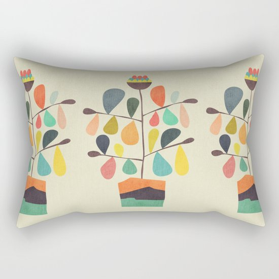 Potted Plant 4 Rectangular Pillow